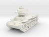 Chi-Ha Tank 1/87 3d printed