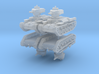 Chi-Ha Tank (x4) 1/160 3d printed