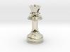 MILOSAURUS Jewelry Staunton Chess Queen Pendant 3d printed