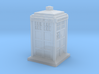 TARDIS Keycap 3d printed