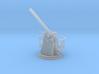 1/72 HMS 12 pdr 3''/45 Cal Gun Elevated 3d printed