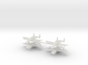 1/600 Two-Seater A-10 Thunderbolt II (Armed) (x4) 3d printed