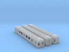 Comeng 3 Car Set M-T-M (No Chassis) - N Scale 3d printed