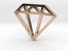 Diamond Pendant 1 Inch 3d printed