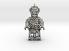 Los Muertos Suger Skull Lego Man Pendent 3d printed