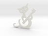Banjo cat 3d printed