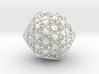 Truncated Icosahedron Stellated ds 75mm 3d printed
