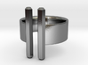 Double Rod Ring 3d printed