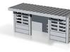 abris de quais beton SNCB 1 piece N 3d printed