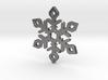 Snow Flake 3d printed Snow Flake steel