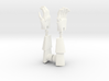 Queen Hands Set 3d printed