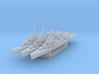 Fletcher class destroyer x3 1/2400 3d printed