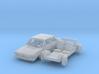 Volkswagen Derby 1 (TT 1:120) 3d printed