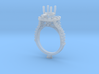 MP1-7815 - Engagement Ring 3d printed