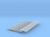 NEM OO Type 4 Couplings - Adaptor 3 Link x10 3d printed