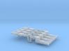 NEM OO Type 11 Couplings - Adaptor 3 Link x4 3d printed