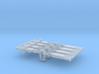 NEM OO Type 17 Couplings - Strait Instanter x4 3d printed
