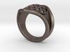 Men Steel Ring 3d printed