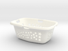 Laundry Basket in 1:12, 1:24 3d printed