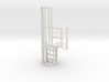Ladder Cage Platform Right 3d printed