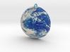 Planet Earth Pendant 3d printed