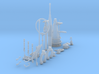 1/35 DKM U-Boot VIIC Conning Tower Detail KIT 3d printed