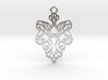 Alarice pendant metal 3d printed