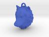 Wolf Head Pendant 3d printed
