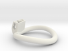 Cherry Keeper Ring - 50x52mm Tall Oval -9° (~51mm) 3d printed