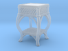 1:48 Nob Hill Wicker Side Table 3d printed