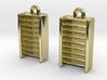 DRAW earrings - EDI potential wells 3d printed
