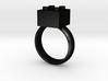 Building Blocks Ring 3d printed