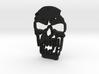 Outlaw Skull Keyring 3d printed