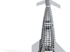1/400 VON BRAUN SHUTTLE - UNDER CONSTRUCTION 3d printed