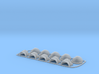 Honoris pattern shoulder pads: Blood Magpies 3d printed