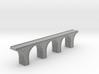 N Scale Arch Bridge Triple Single Track 1:160 3d printed