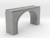 N Scale Arch Bridge Double Track (narrow) 1:16 3d printed