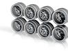 TisBM 9-5 Hot Wheels Truck Rims 3d printed