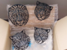 Lion Head (S) Faux Taxidermy 3d printed