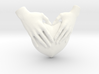 EmeDeÚ Necklace 3d printed White Strong and Flexible Polished