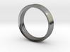 Penta Band Ring Unisex (3 Bands) 3d printed