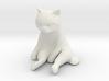 1/12 Grumpy Cute Cat Sitting 3d printed