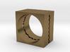 Wavecut ring 3d printed