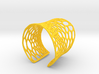 Voronoi bracelet #2 (MEDIUM) 3d printed