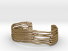 Chloroplast Thylakoid Cuff Bracelet 3d printed