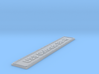 Nameplate USS Colorado BB-45 3d printed
