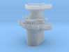 1/350 DKM H39 Superstructure 3 Command Bridge 3d printed