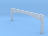 Arched Main Girder - 72' long, level (N-scale) 3d printed