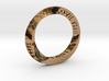 Live The Life You Love - Mobius Ring 3d printed