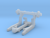 1/64th Scale Cement Mixer part 3 Lift Axle 3d printed